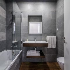 Отель Apartamentos Clube Vilarosa Португалия, Портимао - отзывы, цены и фото номеров - забронировать отель Apartamentos Clube Vilarosa онлайн ванная фото 2