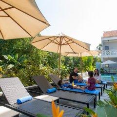 Отель Hoi An Corn Riverside Villa бассейн фото 3