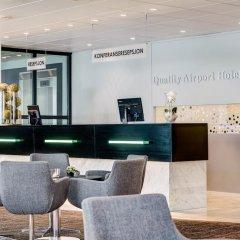 Quality Hotel Airport Vaernes интерьер отеля фото 2