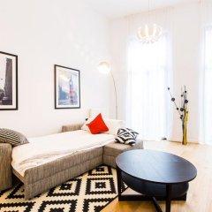 Отель Grand Central Apartments Бельгия, Брюссель - отзывы, цены и фото номеров - забронировать отель Grand Central Apartments онлайн комната для гостей фото 3