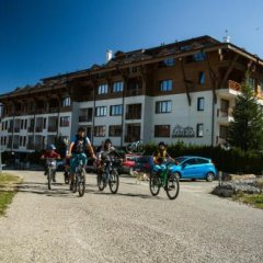 Отель White Lavina Spa And Ski Lodge Банско спортивное сооружение