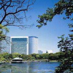 Отель Conrad Tokyo Япония, Токио - отзывы, цены и фото номеров - забронировать отель Conrad Tokyo онлайн приотельная территория фото 2