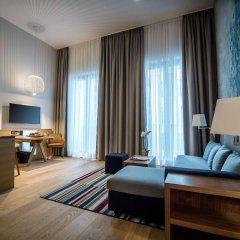 Отель Hyatt House Dusseldorf Andreas Quarter Германия, Дюссельдорф - отзывы, цены и фото номеров - забронировать отель Hyatt House Dusseldorf Andreas Quarter онлайн комната для гостей фото 5