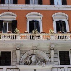 Отель Seiler Hotel Италия, Рим - 12 отзывов об отеле, цены и фото номеров - забронировать отель Seiler Hotel онлайн балкон