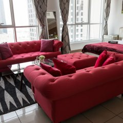Отель HiGuests Vacation Homes - Sulafa Tower интерьер отеля