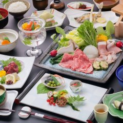 Отель Yamashinobu Минамиогуни питание фото 2