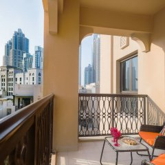 Апартаменты Dream Inn Dubai Apartments - Kamoon балкон