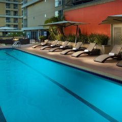 Omni Los Angeles Hotel at California Plaza бассейн фото 2