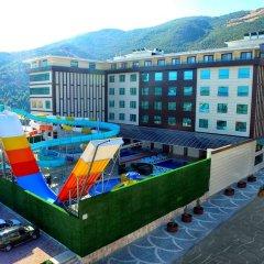 Отель Orkis Palace Thermal & Spa парковка