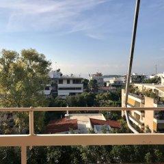 Апартаменты Perfect sea view apartment in Voula балкон