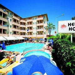 Helios Hotel - All Inclusive бассейн