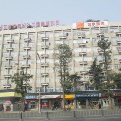 Отель Chengdu Home Inn - People's Park городской автобус