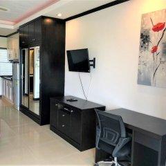 Апартаменты Top Floor Spacious Studio Паттайя удобства в номере