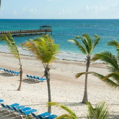 Отель Impressive Premium Resort & Spa Punta Cana – All Inclusive Доминикана, Пунта Кана - отзывы, цены и фото номеров - забронировать отель Impressive Premium Resort & Spa Punta Cana – All Inclusive онлайн пляж фото 2