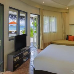 Отель Angsana Velavaru Мальдивы, Южный Ниланде Атолл - отзывы, цены и фото номеров - забронировать отель Angsana Velavaru онлайн Южный Ниланде Атолл  комната для гостей фото 4
