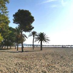 Отель Aparthotel Cabau Aquasol Испания, Пальманова - 1 отзыв об отеле, цены и фото номеров - забронировать отель Aparthotel Cabau Aquasol онлайн пляж