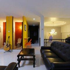 Отель Pyat Music and Artel Таиланд, Бангкок - отзывы, цены и фото номеров - забронировать отель Pyat Music and Artel онлайн комната для гостей фото 2