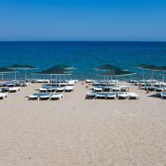 Larissa Blue Hotel пляж