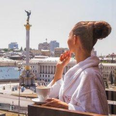 Апартаменты Uavoyage Khreschatyk Apartments балкон