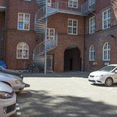 Отель Apartment040 Averhoff Living Гамбург парковка