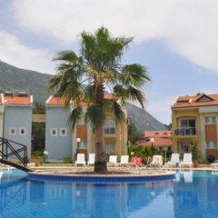 Апартаменты Hisar Garden Apartments Олудениз бассейн