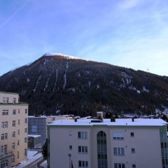 Отель Alpina Швейцария, Давос - отзывы, цены и фото номеров - забронировать отель Alpina онлайн балкон