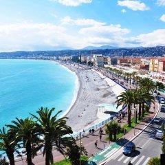 Отель Centre Nice - Massena - 2 rooms Франция, Ницца - отзывы, цены и фото номеров - забронировать отель Centre Nice - Massena - 2 rooms онлайн пляж фото 2