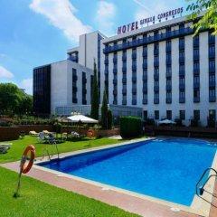 Отель M.A. Sevilla Congresos Испания, Севилья - 1 отзыв об отеле, цены и фото номеров - забронировать отель M.A. Sevilla Congresos онлайн бассейн