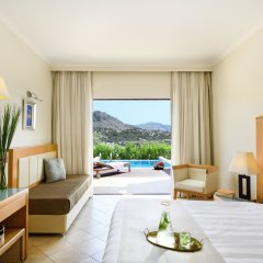 Отель Lindos Imperial Resort And Spa комната для гостей фото 2