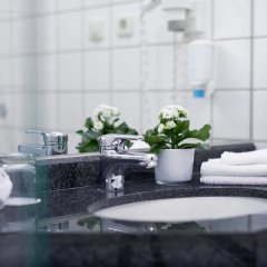 Sachsenpark-Hotel ванная фото 2