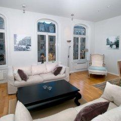 Апартаменты Frogner House Apartments - Riddervoldsgate 10 комната для гостей фото 5