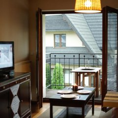 Отель Apartament z widokiem интерьер отеля