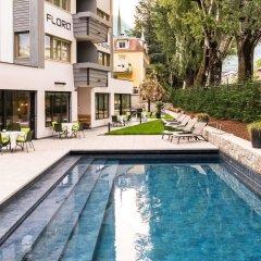 Отель Residence Flora Италия, Меран - отзывы, цены и фото номеров - забронировать отель Residence Flora онлайн бассейн