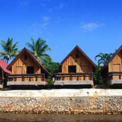 Отель Khun Mai Baan Suan Resort пляж
