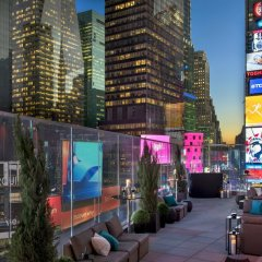 Отель New York Marriott Marquis США, Нью-Йорк - 8 отзывов об отеле, цены и фото номеров - забронировать отель New York Marriott Marquis онлайн