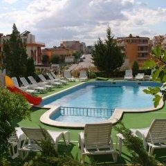Отель Панорама Болгария, Свети Влас - отзывы, цены и фото номеров - забронировать отель Панорама онлайн бассейн фото 2