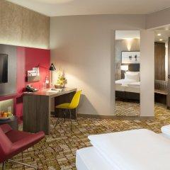 Отель Dorint Airport-Hotel Zürich Швейцария, Глаттбруг - отзывы, цены и фото номеров - забронировать отель Dorint Airport-Hotel Zürich онлайн комната для гостей фото 3