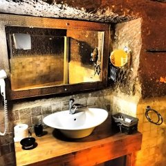 Отель Monte Cappa Cave House ванная