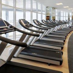 Отель JW Marriott Marquis Dubai фитнесс-зал