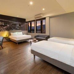 Отель GLOW Penang Малайзия, Пенанг - 1 отзыв об отеле, цены и фото номеров - забронировать отель GLOW Penang онлайн комната для гостей фото 3