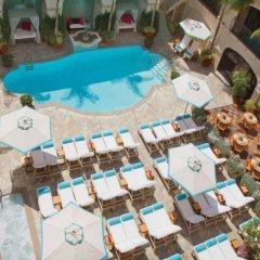Отель Beverly Wilshire, A Four Seasons Hotel США, Беверли Хиллс - отзывы, цены и фото номеров - забронировать отель Beverly Wilshire, A Four Seasons Hotel онлайн бассейн