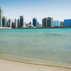 Отель Le Royal Meridien Abu Dhabi пляж