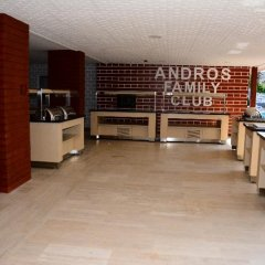 Отель Andros Family Club питание фото 3