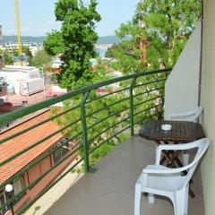 Отель Juli Болгария, Солнечный берег - отзывы, цены и фото номеров - забронировать отель Juli онлайн балкон