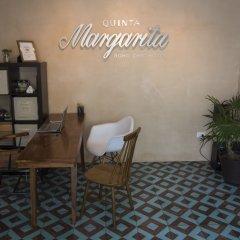 Отель Quinta Margarita Boho Chic Плая-дель-Кармен удобства в номере фото 2