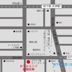 Отель Unizo Fukfouka Tenjin Фукуока городской автобус