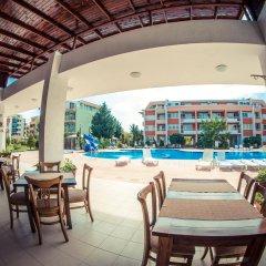 Отель Sunny Fort Болгария, Солнечный берег - отзывы, цены и фото номеров - забронировать отель Sunny Fort онлайн бассейн фото 2