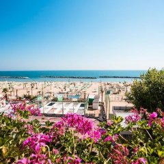 Hotel Gaia Римини пляж