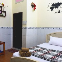 Отель Ba Dat Homestay Q6 комната для гостей фото 3