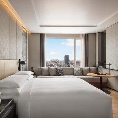 Отель Marriott Bangkok The Surawongse Бангкок комната для гостей фото 5